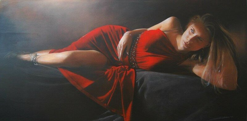 Antonio Sgarbossa 1945 - Italian Figurative painter -  Tutt'Art@ (39).jpg