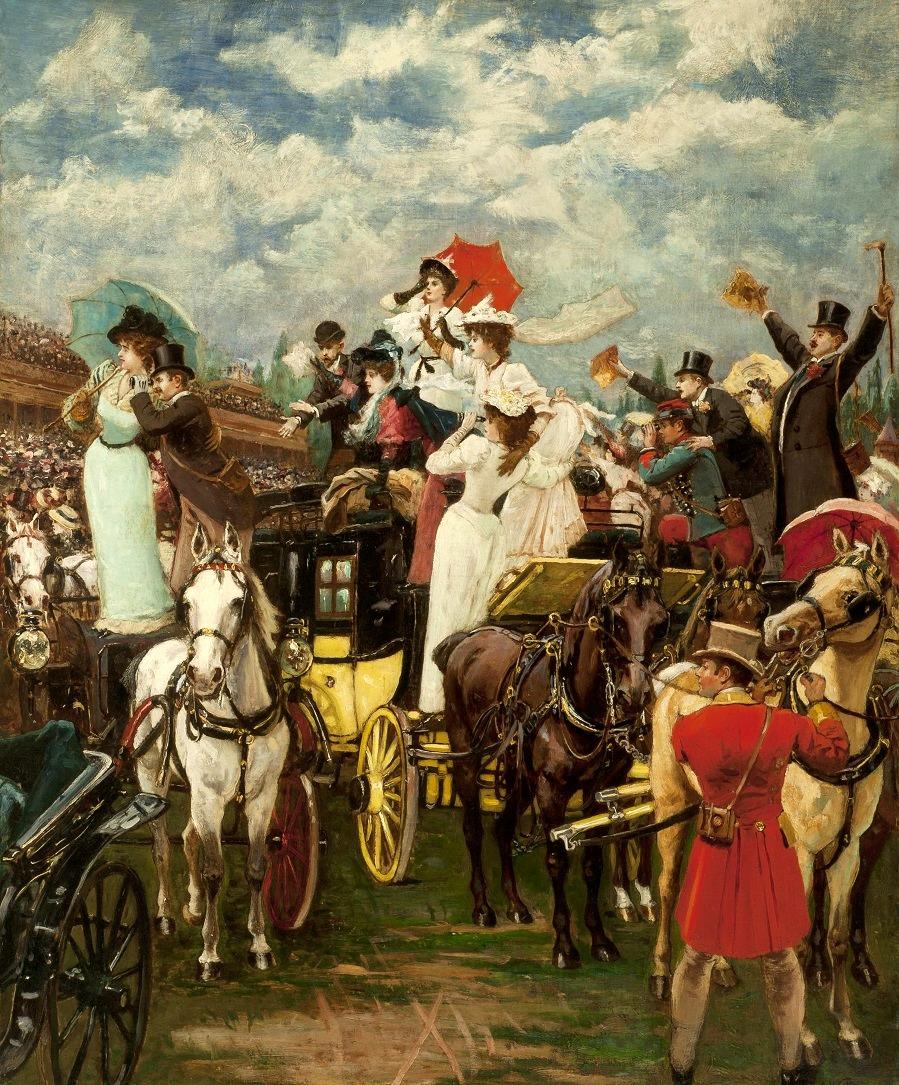 THE GRAND PRIX DE PARIS, 1895.
