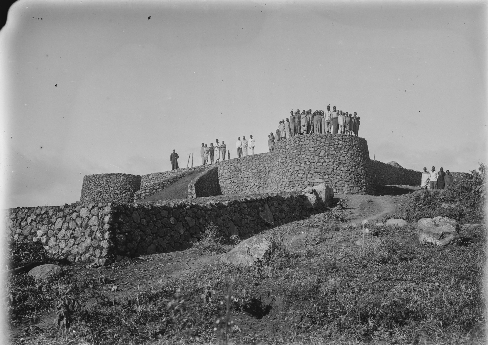 161. Крепость в районе Марангу