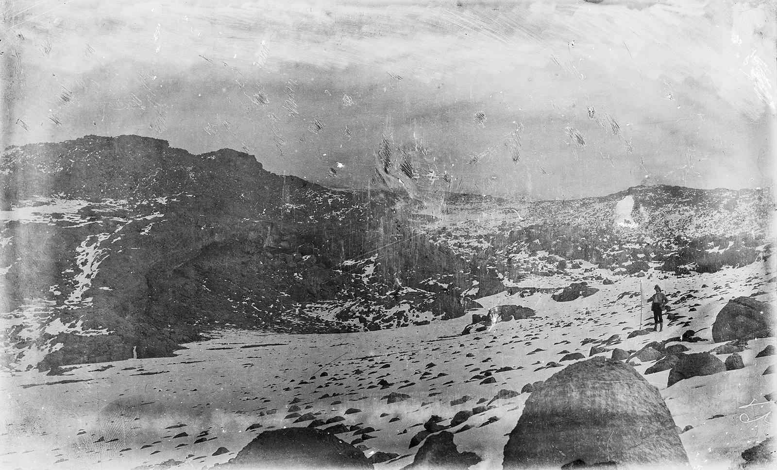 366. Снежное поле с восточной стороны Кибо