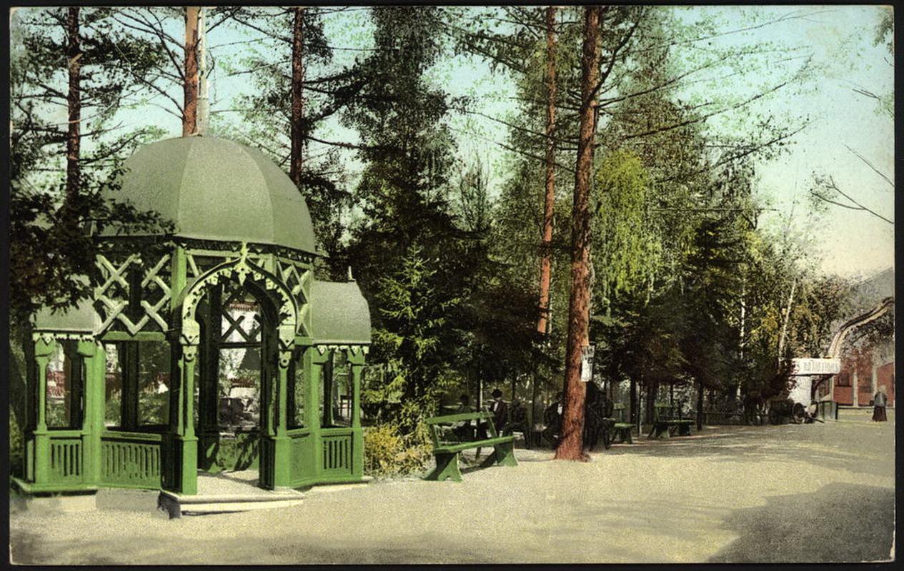 Беседка Интендантского сада