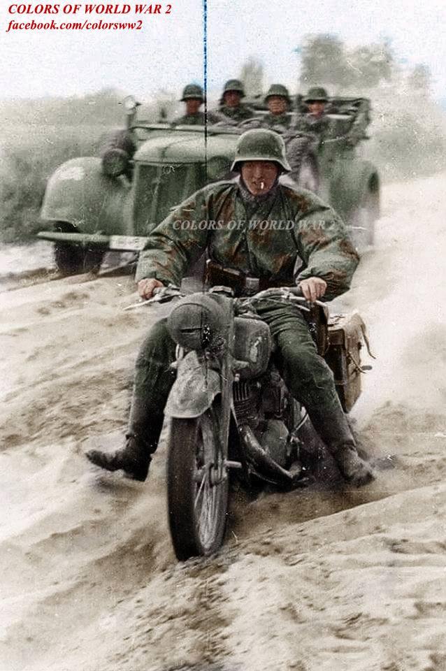 Грузин Мелкадзе был крут.  1941 г.