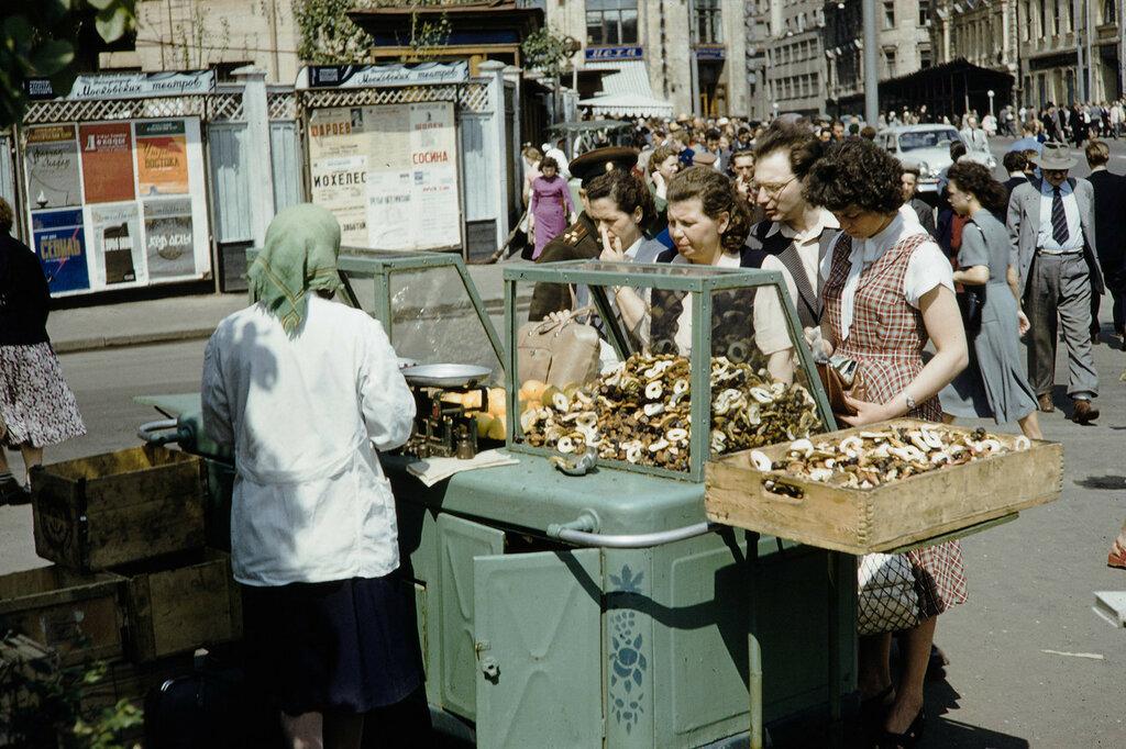 Москва 1959 - 1960 гг. Уличная торговля
