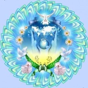 Международный день мира. Голубь над планетой