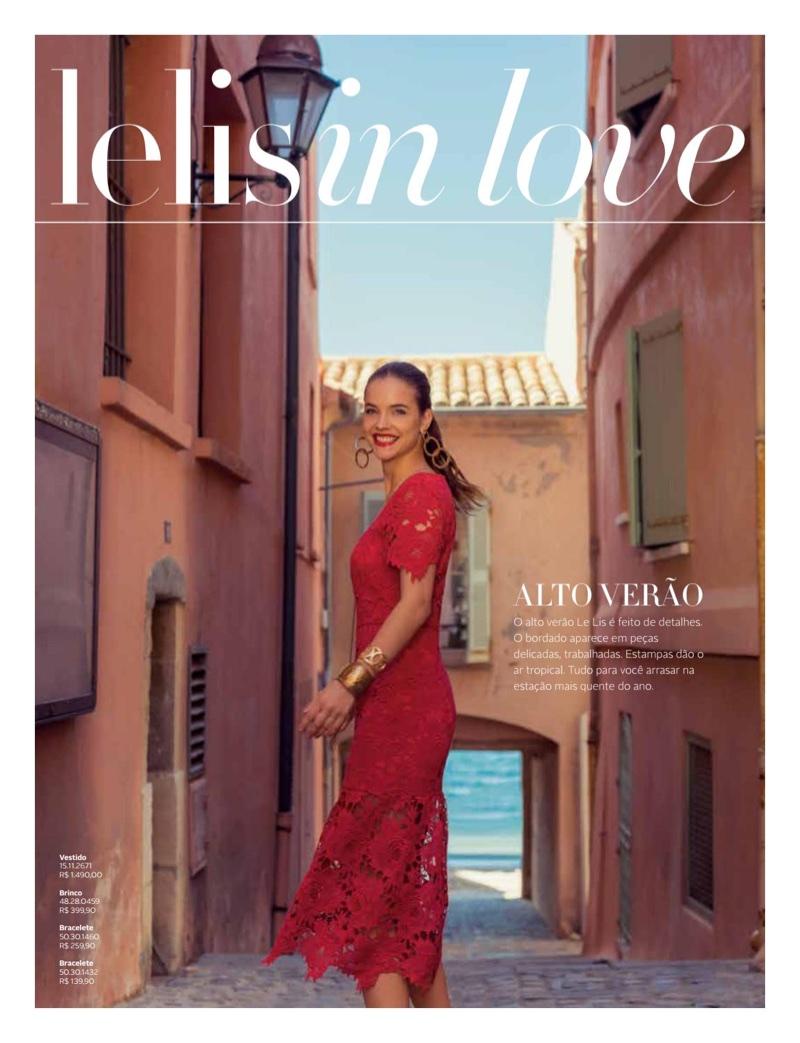 Барбара Палвин в Le Lis Blanc Magazine