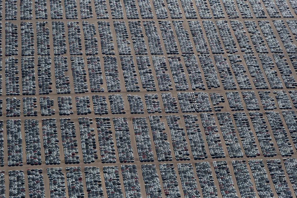 HD автомобиль кладбище