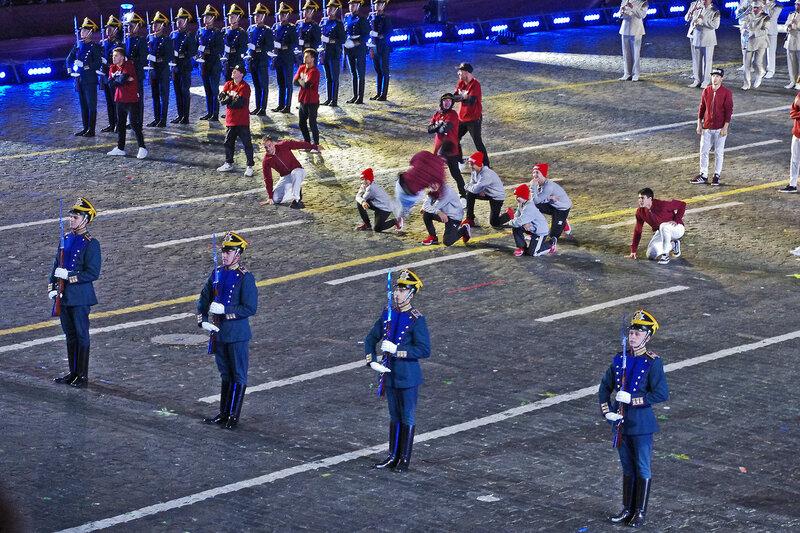 Президентский оркестр и Рота Почетного Караула