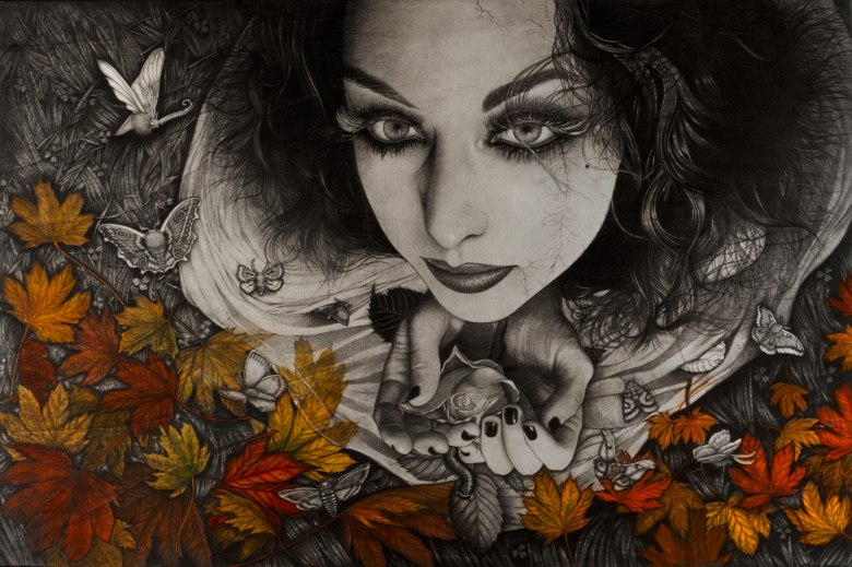 Alessia Iannetti gallery graphite Illustration