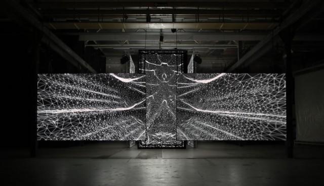 Audiovisual Installation by Joanie Lemercier