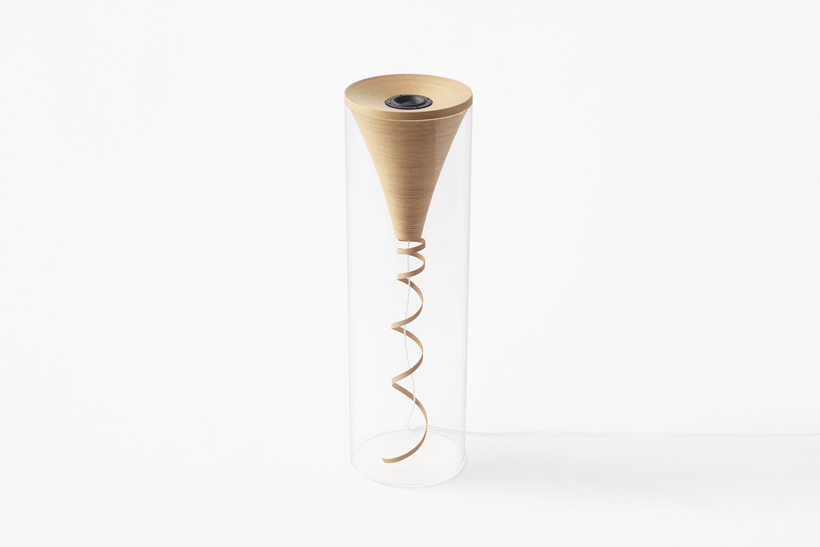 Speakers Crafted from Beech Wood by Nendo