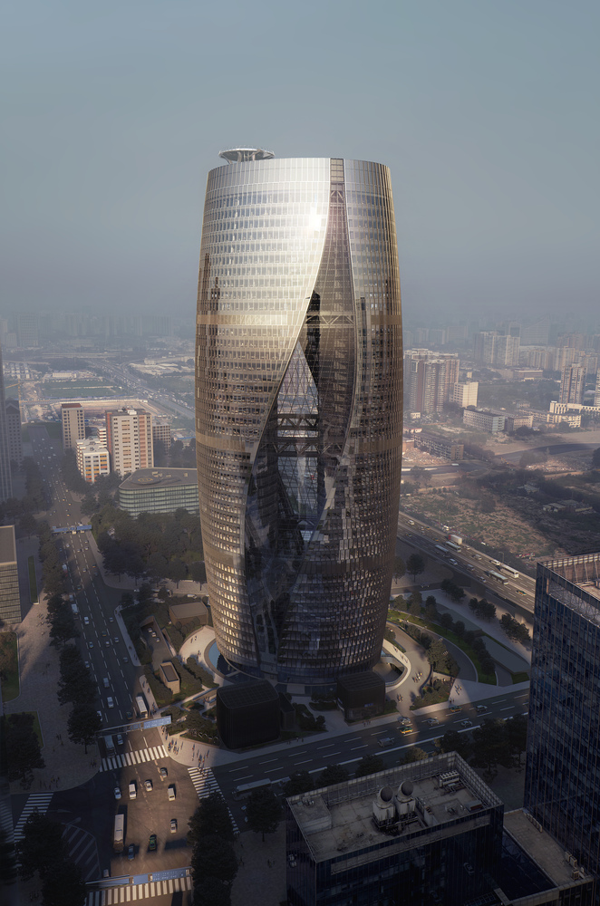 The World Tallest Atrium by Zaha Hadid Architects