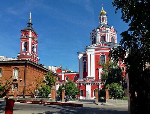 Церковь Вознесения Господня, что за Серпуховскими воротами. Интерьер нижнего храма.