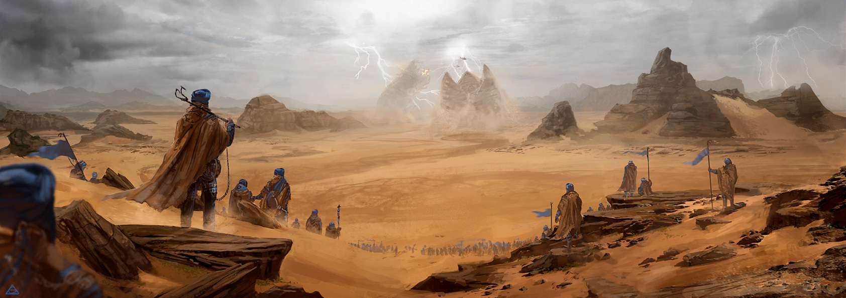 Dune Concept Art and Illustrations I (27 pics)