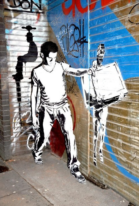 Alexa Meade – Art on Streets