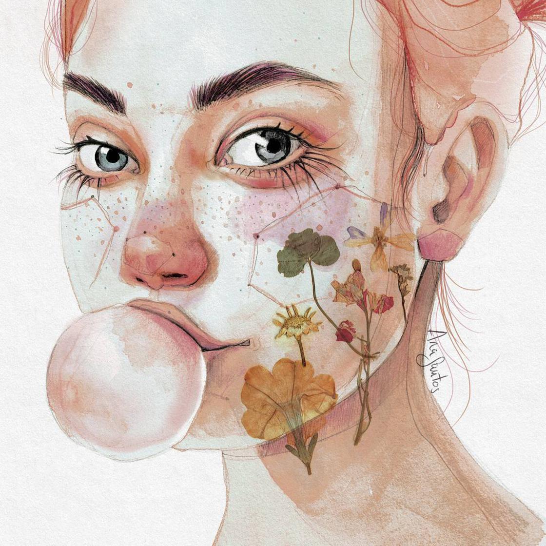Natural Girls – Les portraits doux et sensuels d'Ana Santos (24 pics)