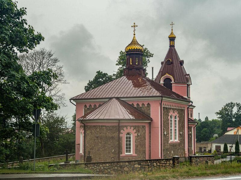 Церковь св. Дмитрия Солунского (1866 г.).