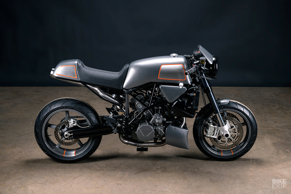 Analog Motorcycles: кафе рейсер KTM 990 Super Duke 2007 - Archduke