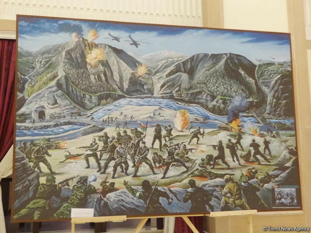 Пропаганда героизма азербайджанской армии