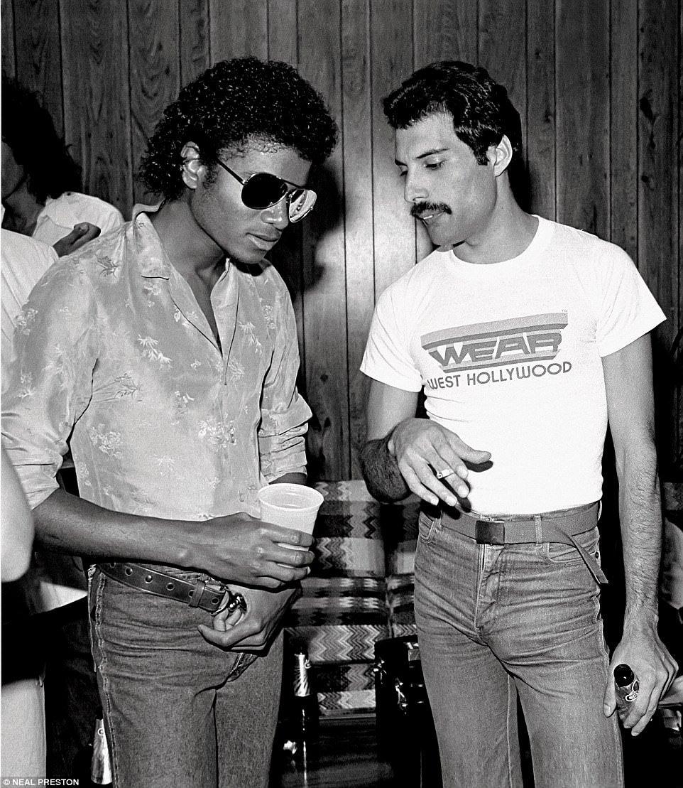 1980. Фредди Меркури & Майкл Джексон