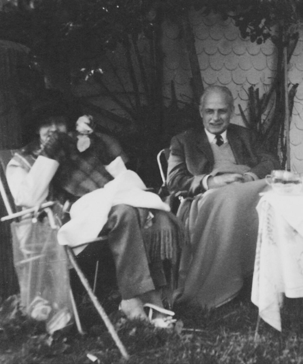 1967. Анастасия и принц Фредерик-Эрнст в Унтерленгенхардте.