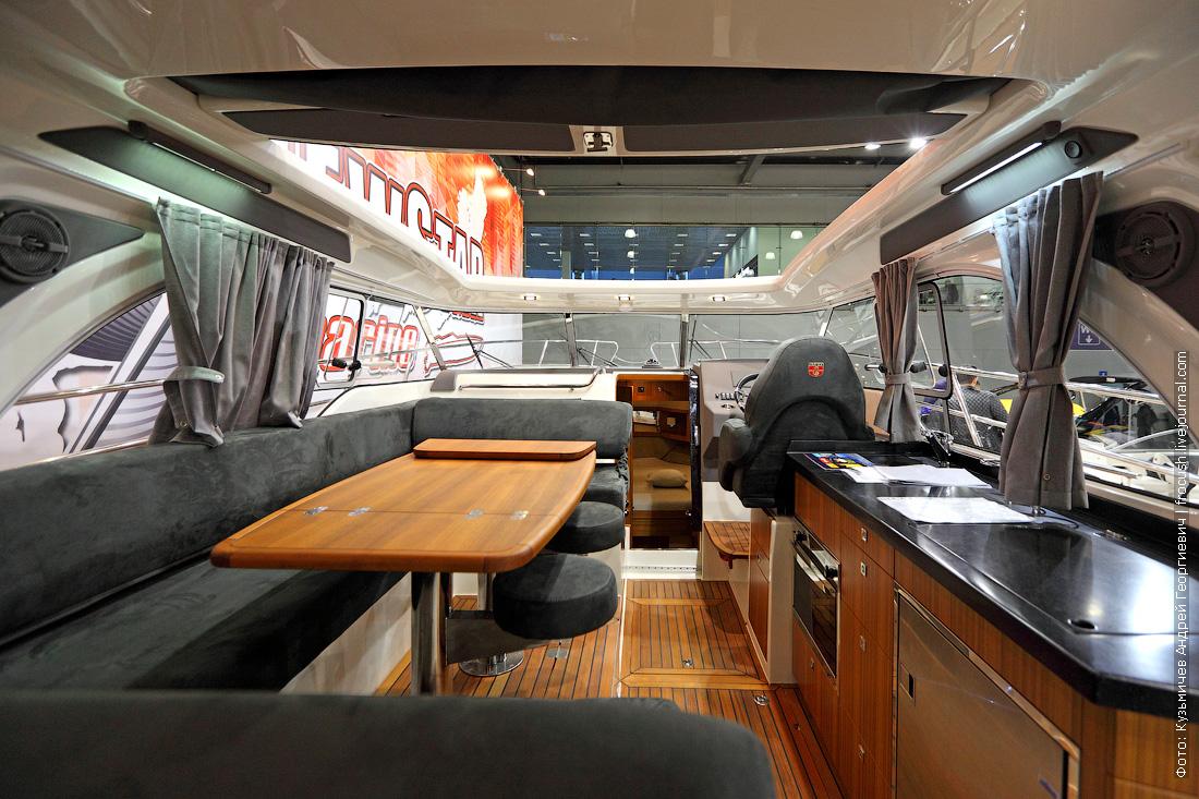 московское боут шоу интерьеры фото Marex 370 Aft Cabin Cruiser