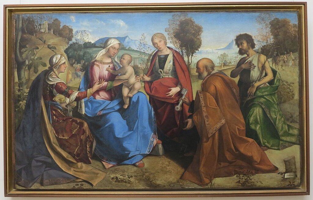 Sposalizio_di_santa_Caterina_con_i_santi_Rosa,_Pietro_e_Giovanni_Battista_di_Boccaccio_Boccaccino_(2).JPG