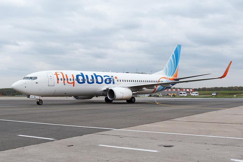 Boeing 737-8KN (A6-FEL) Flydubai D700406e