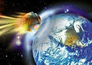 Земля вновь под угрозой столкновения с астероидом