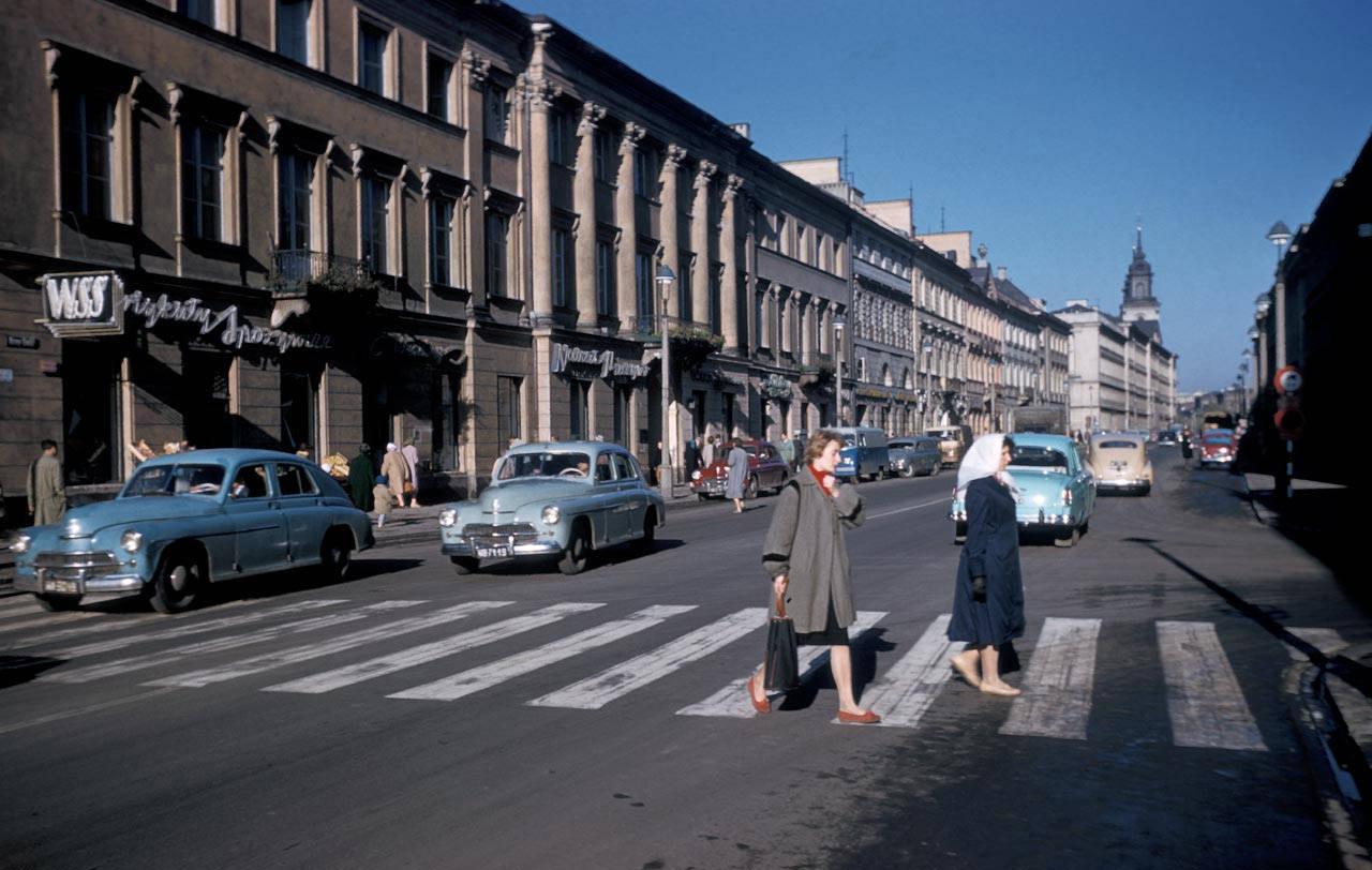 1960 Варшава Nowy Swiat.jpg