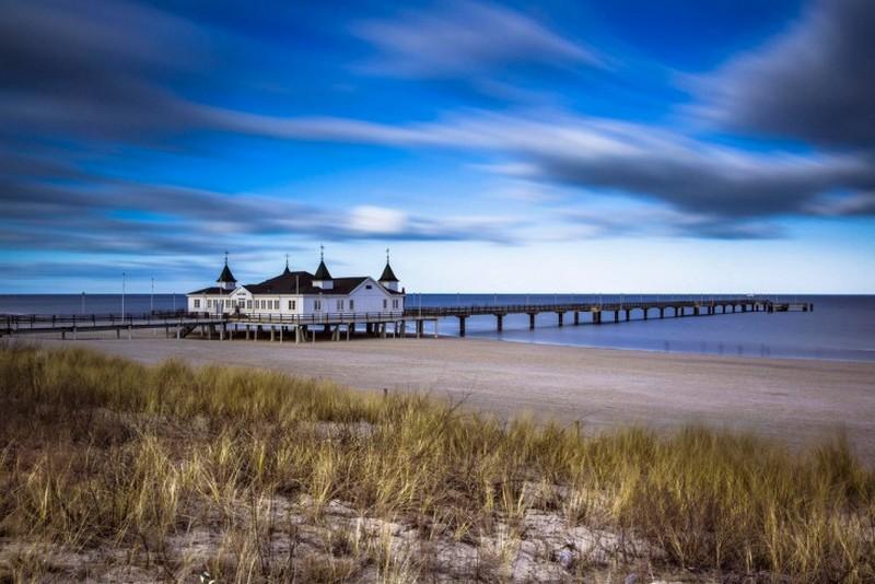 Безмятежность пляжа Альбек