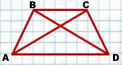 esli u trapetsii diagonali ravnyi