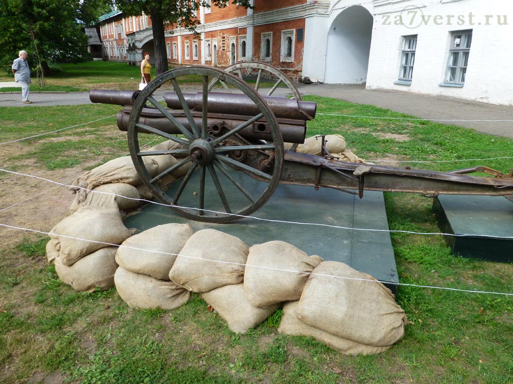 Полевая скорострельная пушка. Ярославский кремль