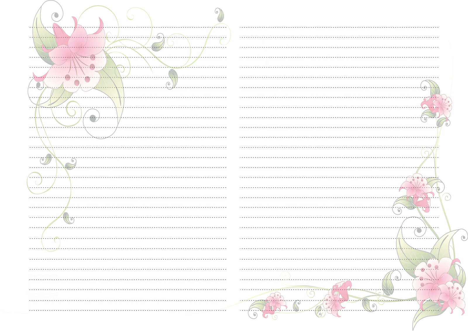 листы с картинками для блокнота скрапбукингом если вас