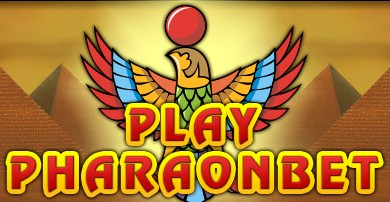 логотип онлайн клуба фараон