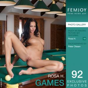 Журнал Журнал FemJoy: Rosa H - Games (23-04-2014)