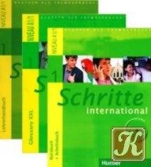 Книга Schritte international 1. Niveau A1/1 (Kursbuch + Arbeitsbuch mit Audio-CD, Glossary XXL Deutsch-Englisch, Lehrerhandbuch, CD-ROM)