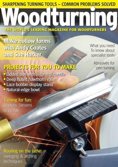 Книга Журнал: Woodturning №№275 - 282 (январь - август 2015) [En]