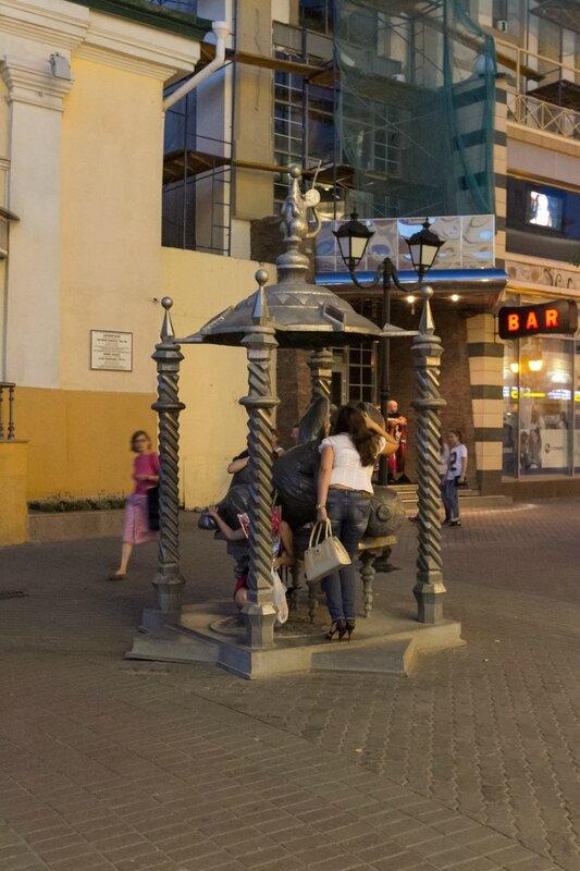 Памятник казанскому коту, Казань