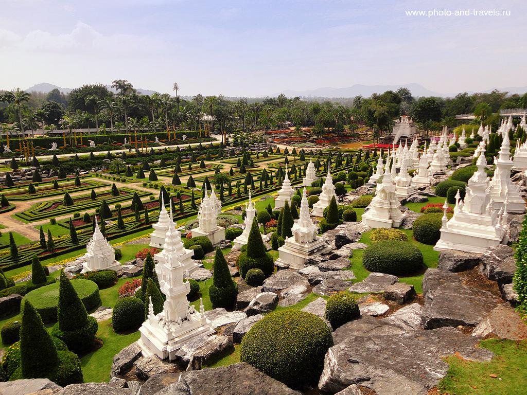 6. Одной из самых впечатляющих экскурсий в городе Паттая стала поездка в ботанический сад Нонг Нуч (Nong Nooch Botanical Garden). Рассказ о самостоятельном отдыхе в Таиланде.