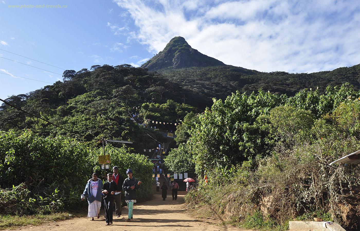 10. Шри-Ланка. Пик Адама. До вершины - ой, как далеко!