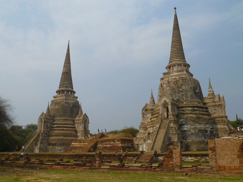 Храм Ват Пра Си Санпет - Аюттайя, Таиланд (Wat Phra Si Sanpete - Ayutthaya, Thailand)