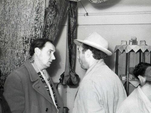 Дружеская компания, 1958 год