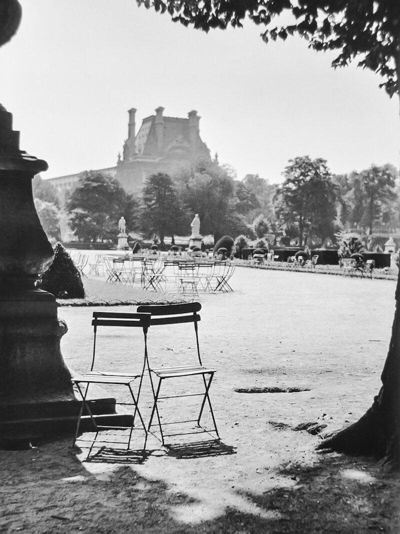 1951. Сад Тюильри
