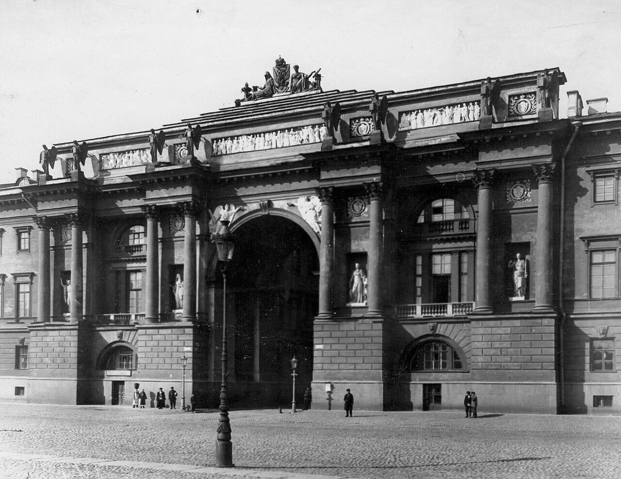 05. Арка зданий Сената и Синода. 1913