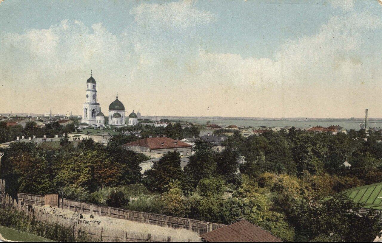 Вид города с северо-восточной стороны