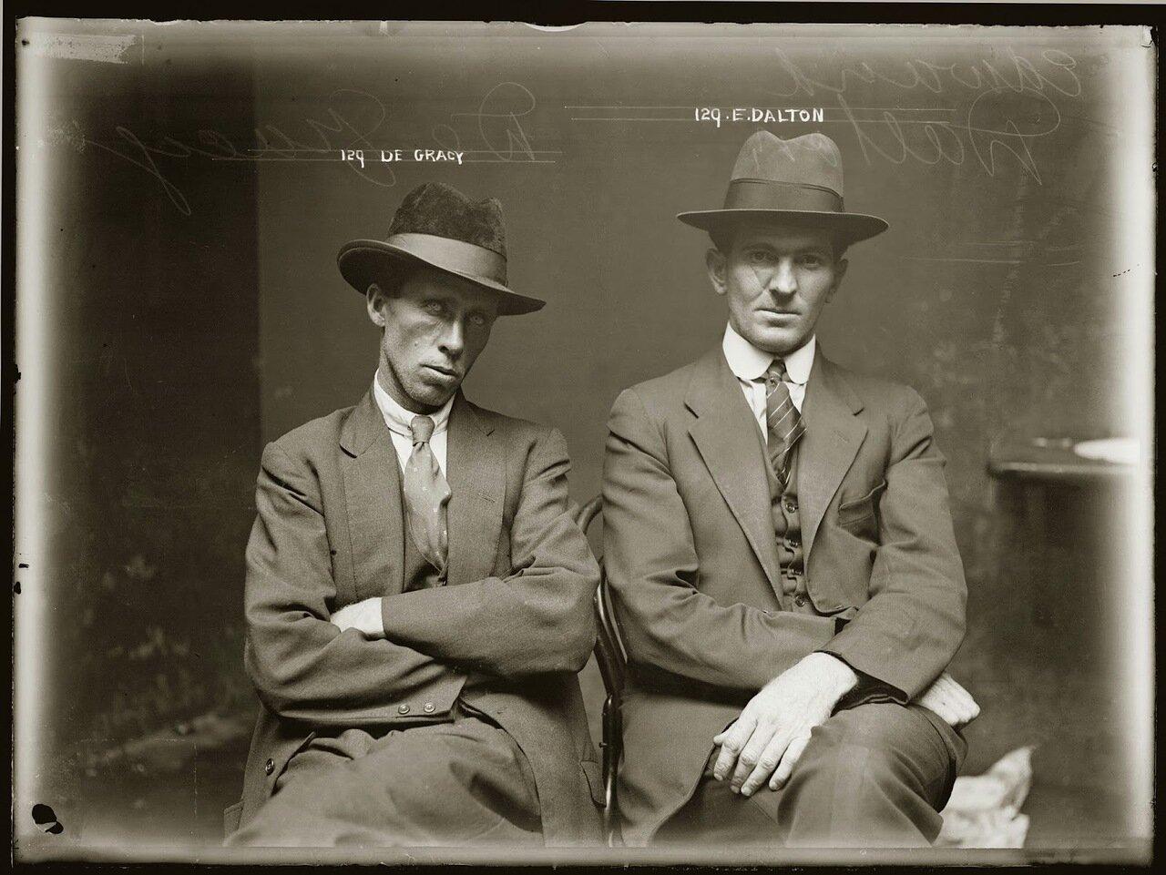 11.Грейси и Далтон - очень серьезные гангстеры из Лос-Анджелеса, входили в элиту американской мафии. Занимались рабочими профсоюзами фабрик и заводов, азартными играми, ипподромами, финансами мафиозных группировок. Не брезговали лично убивать пойманного стукача или конкурента