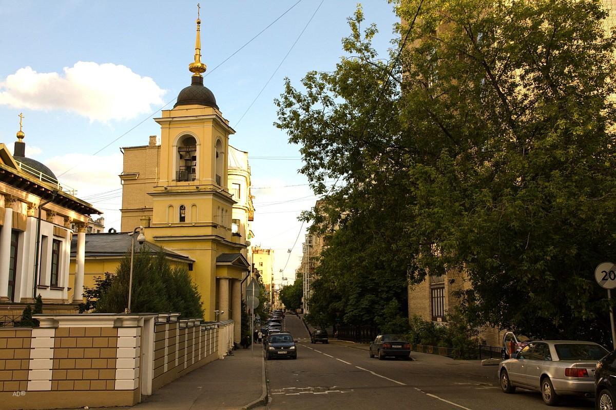 Храм св. Афанасия и Кирилла, Патриархов Александрийских, что на Сивцевом Вражке