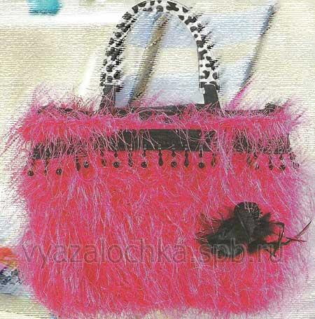 сумка для девочки крючком схема.