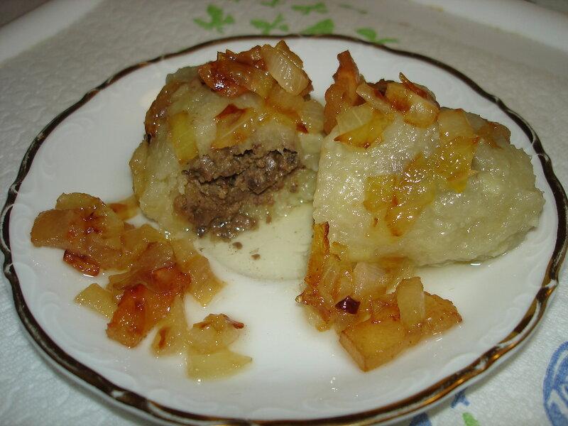 ЦЕПЕЛИНЫ(литовское блюдо)