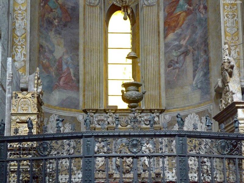 Кованая решётка капеллы Св. Агаты. Il Duomo. Catania. (7)